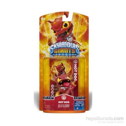 Skylanders Giants Hot Dog