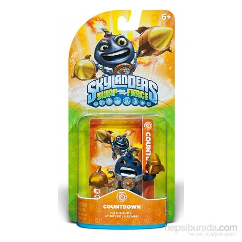 Skylanders Swap Countdown Lightcore
