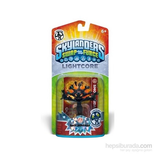 Skylanders Swap Smolderdash Lightcore