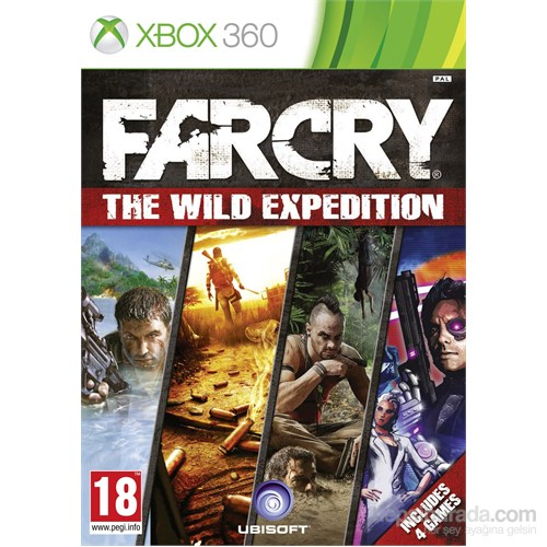 Far Cry Wild Expedition Xbox 360