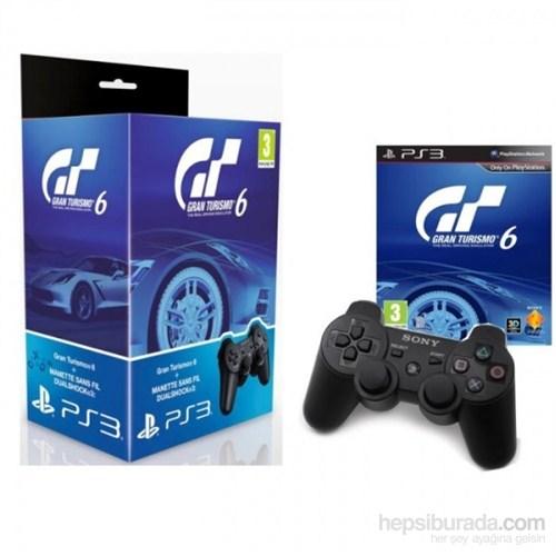 Gran Turismo 6 + Dual Shock 3 Joystick