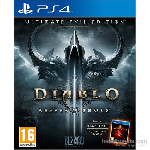 Diablo 3 Utimate Evil Edition PS4