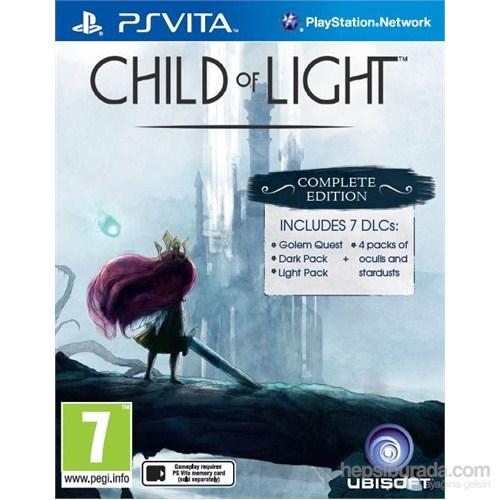 Child Of Light PS Vita