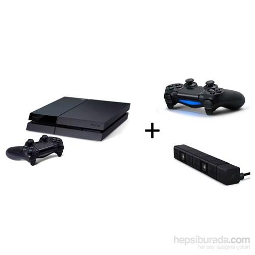 Sony Playstation 4 500 Gb Oyun Konsolu + Playstation 4 Titreşimli Joystick + PS4 Kamera