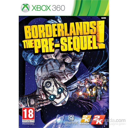 Borderlands The Presequel Xbox 360