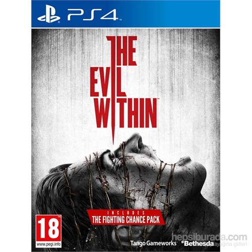 The Evil Within Limited Edition Incl The Fighting Chance PS4