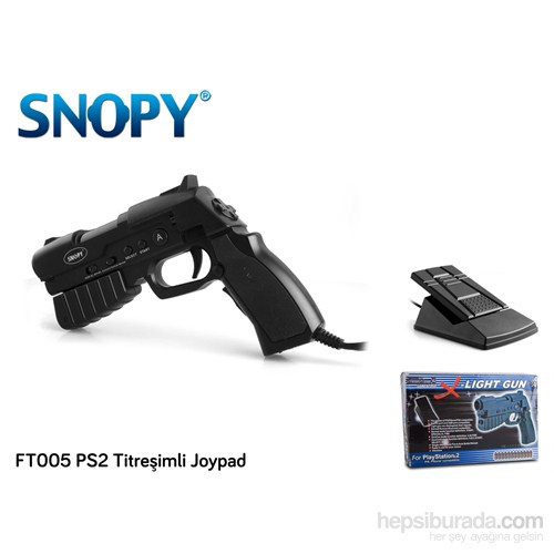 Snopy FT005 PS2 Titreşimli Joypad