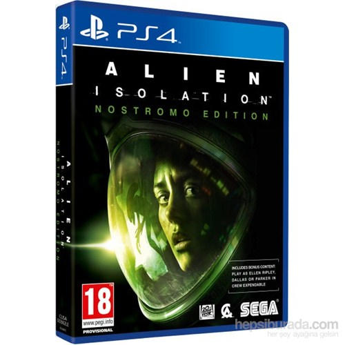 Alien İsolation Nostromo Edition PS4