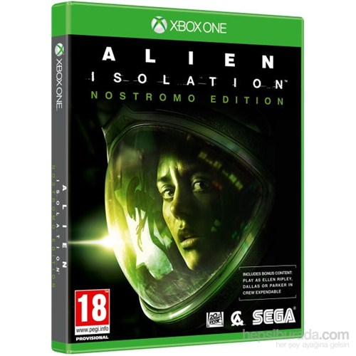 Alien İsolation Nostromo Edition Xbox One