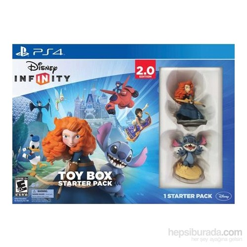 Disney Infinity 2.0 Originals Starter Pack PS4