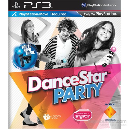 Dance Star Party (Move Uyumlu) PS3