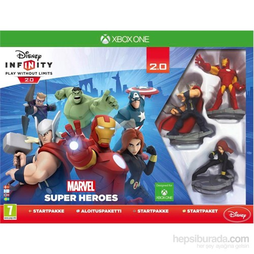 Disney Infinity 2.0 Marvel Starter Pack Xbox One