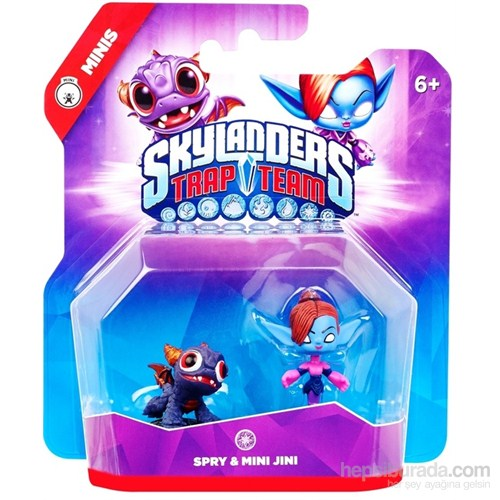 Skylanders Trap Team Mini Mini Jini + Spry