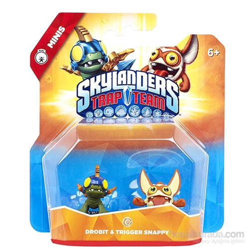 Skylanders Trap Team Mini Drobit + Trigger Happy