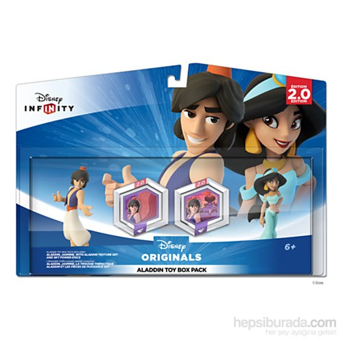 Disney Infinity Aladdin Toy Box Pack