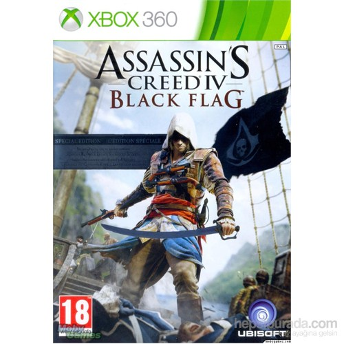 Assassins Creed IV Black Flag Standart Edition Xbox 360