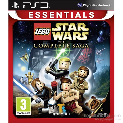 Disney Lego Star Wars The Complete Saga Ps3
