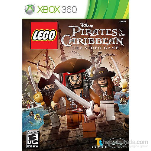 Disney Lego Pirates Of The Caribbean Xbox 360