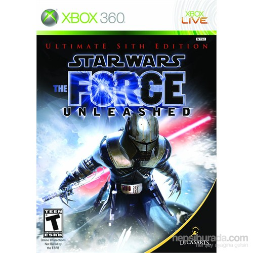 Star Wars Force Unleashed The Ultimate Sith Xbox 360