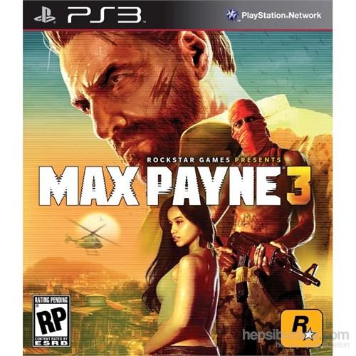 Max Payne 3 Ps3 Oyunu