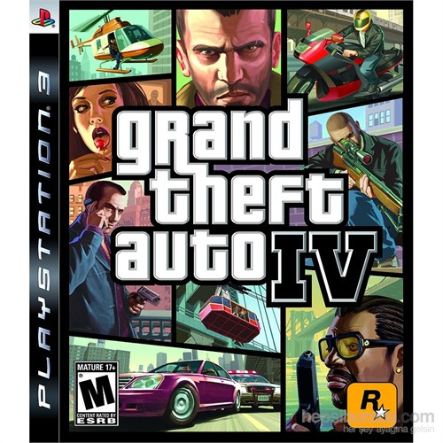 Grand Theft Auto 4 Ps3 Oyunu