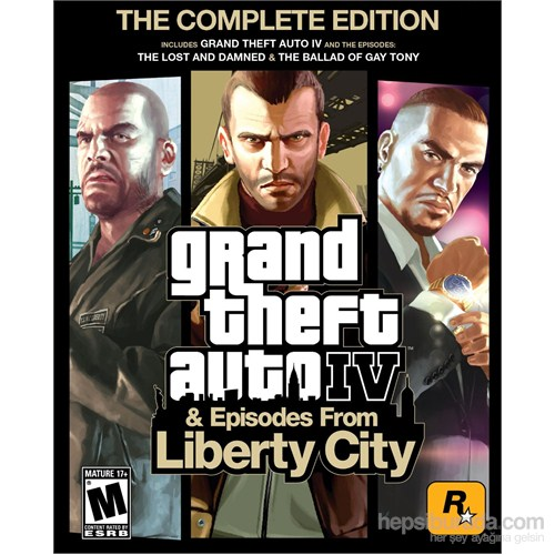 Grand Theft Auto 4 The Comple Edition Episodes From Liberty City Ps3 Oyunu