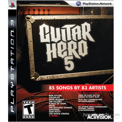 Guitar Hero 5 Ps3 Oyunu