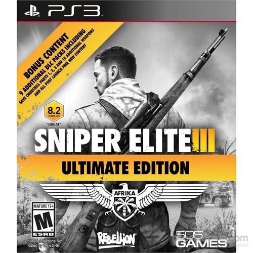 Sniper Elite 3 Iıı Ultimate Edition Ps3 Oyunu