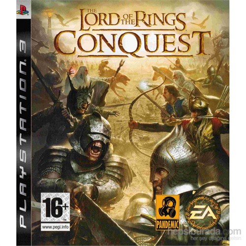 The Lord Of The Rings Conquest Review Ps3 Oyun