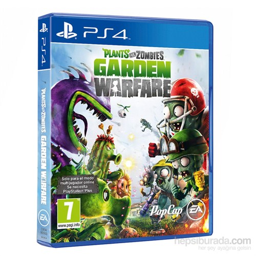 Plants Vs Zombies Garden Warfare Ps4 Oyunu