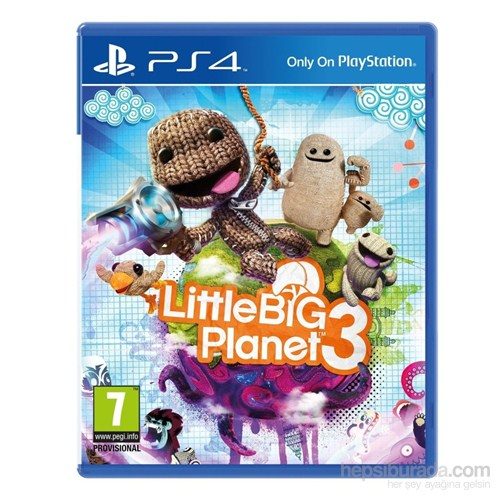 Little Big Planet 3 Ps4 Oyunu