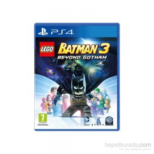 Lego Batman 3 Beyond Gotham Ps4 Oyunu