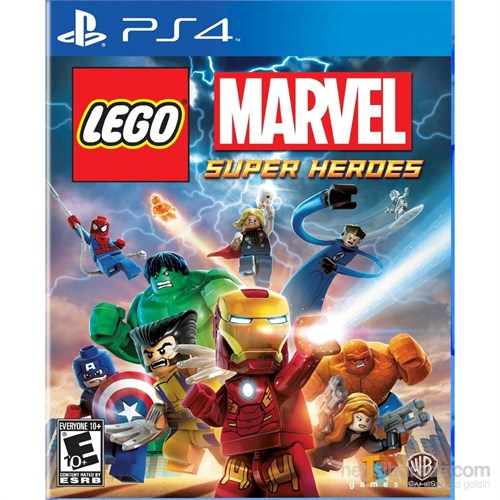 Lego Marvel Super Heroes Ps4 Oyunu