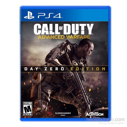 Call Of Duty Advanced Warfare Day Zero Edition Ps4 Oyunu