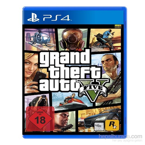 Grand Theft Auto V Ps4 Oyunu