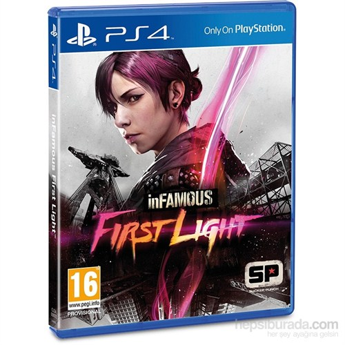 İnfamous First Light Ps4 Oyunu Pal 2 Türkçe