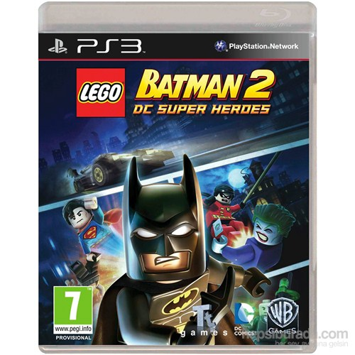Lego Batman Dc Super Herdes Ps3 Oyunu