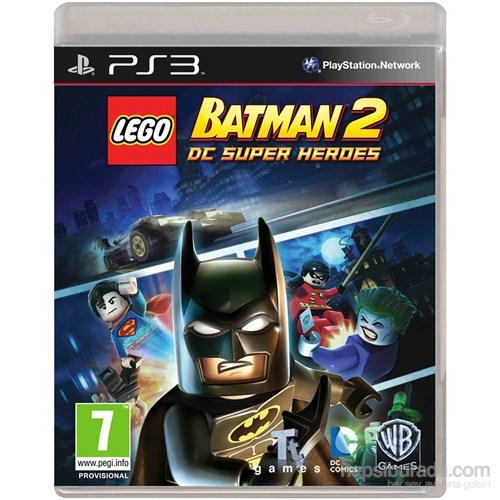 Lego Batman Dc Super Herdes Ps3 Oyunu
