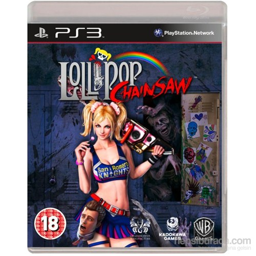 Lollipop Chainsaw Ps3 Oyunu