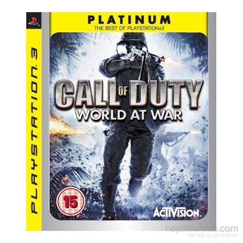 Call Of Duty Worl At War Ps3 Oyunu