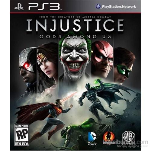 Warner Bros Games Injustice Gods Among Us Ps3 Oyun