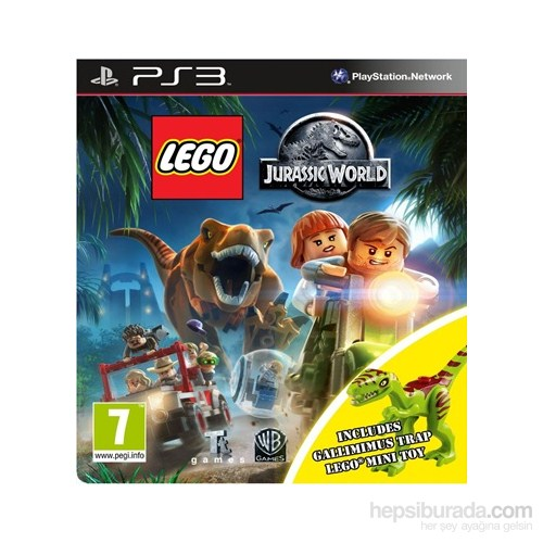 Lego Jurassic World Toy Edition PS3