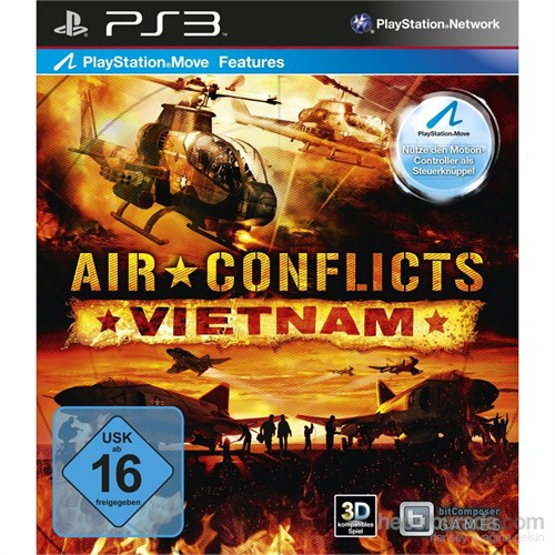 Air Conflicts Vietnam Ps3 Oyun