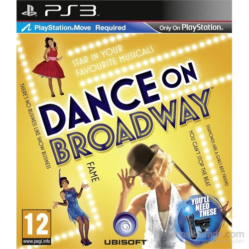 Dance On Broadway Ps3 Oyun