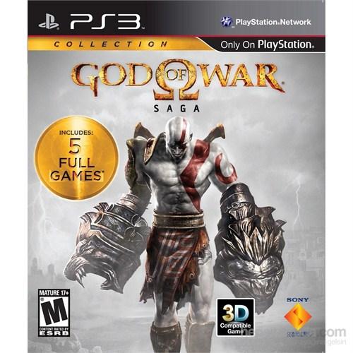 God Of War Saga Colletion 2 Ps3 Oyun