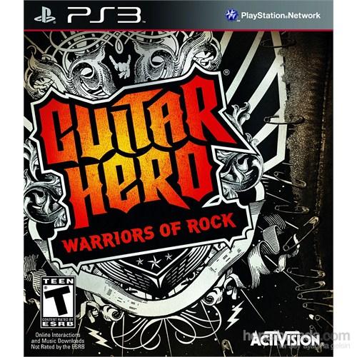 Guitar Hero 6 Warriors Of Rock Ps3 Oyun
