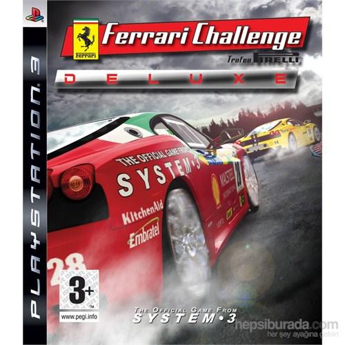 Ferrari Challenge Deluxe Ps3 Oyun