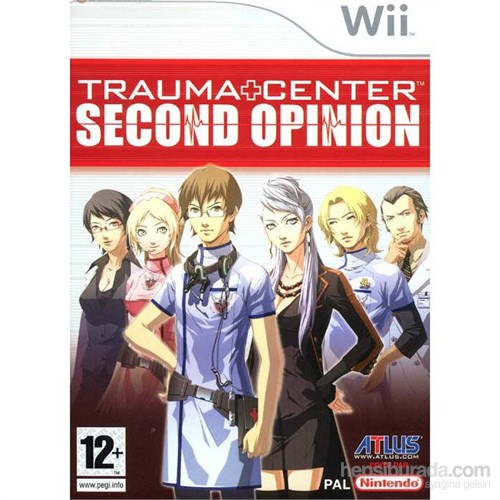 Atlus Wii Trauma Center Second Opınıon