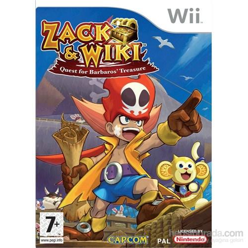 Capcom Wii Zack Wıkı Quest For Barbaros Treasure