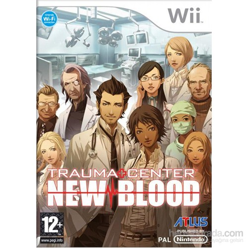 Atlus Wii Trauma Center New Blood